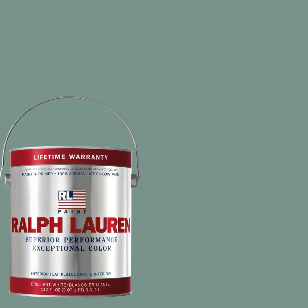 Ralph Lauren 1-gal. Volute Green Flat Interior Paint