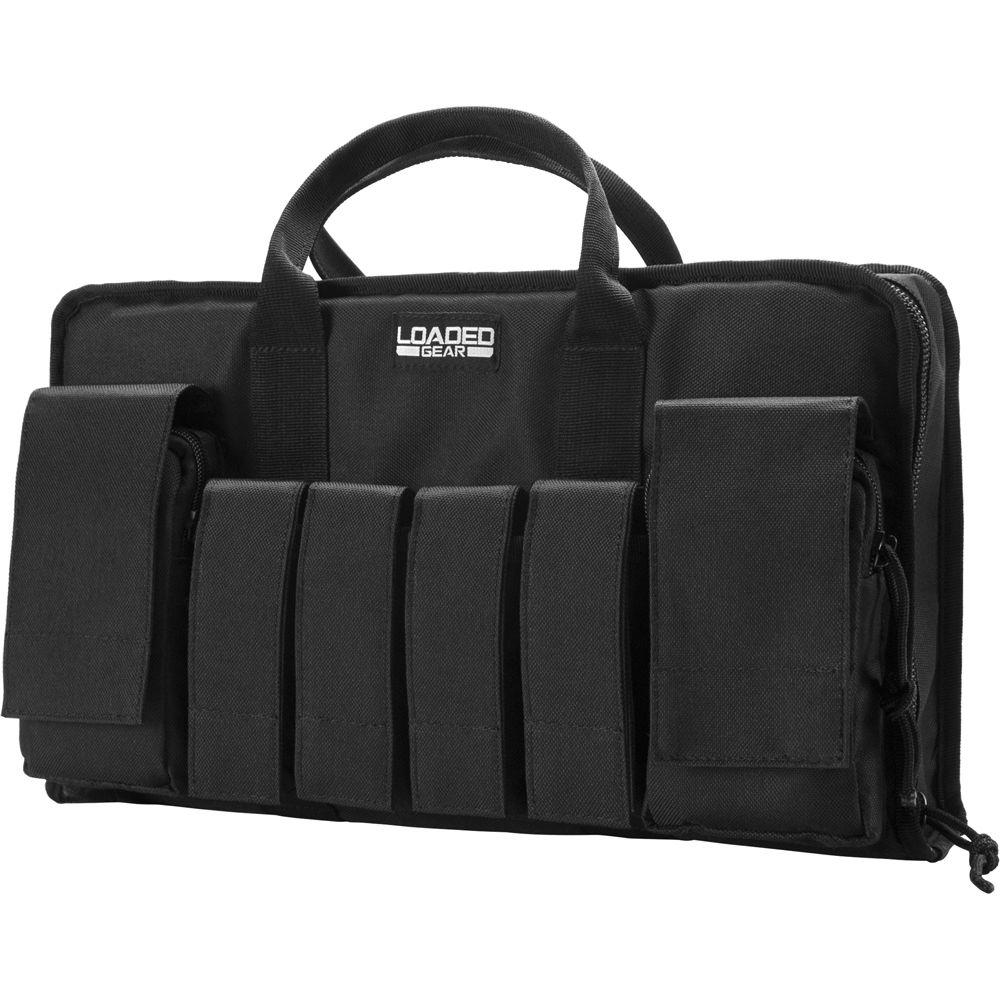Loaded Gear 16 in. RX-50 Tactical Pistol Bag, Black