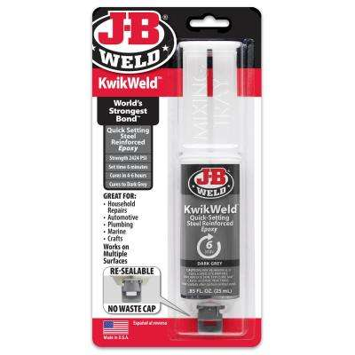 KwikWeld 25 ml Epoxy Syringe (Case of 6)