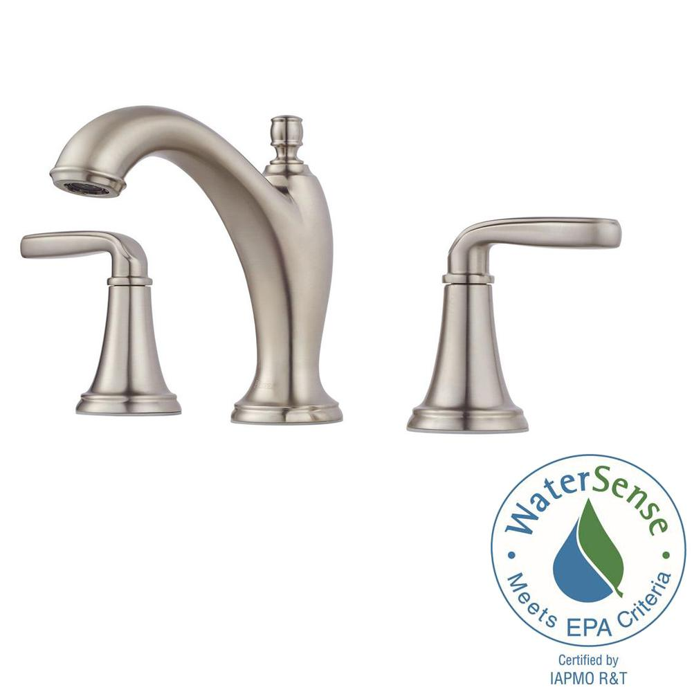 Pfister Northcott 8 in. Widespread 2-Handle Bathroom Faucet in ...