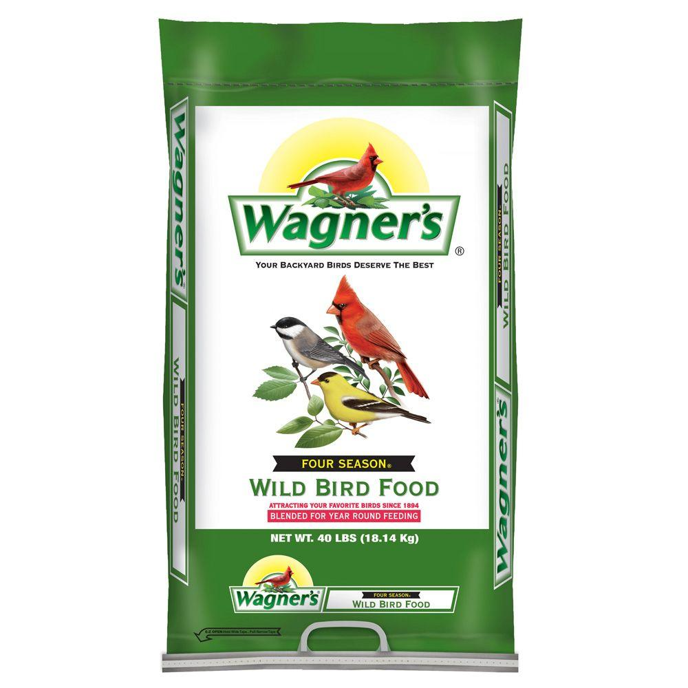 wagner u0027s 40 lb four season wild bird food 25016 the home depot