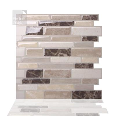Polito Bella 12 in. W x 12 in. H Peel and Stick Self-Adhesive Decorative Mosaic Wall Tile Backsplash (10-Tiles)