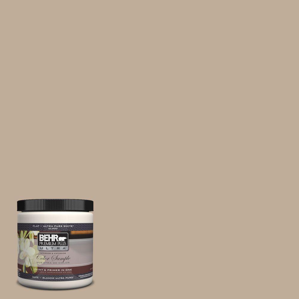 BEHR Premium Plus Ultra 8 oz. #UL170-18 Riviera Beach Interior/Exterior Paint Sample