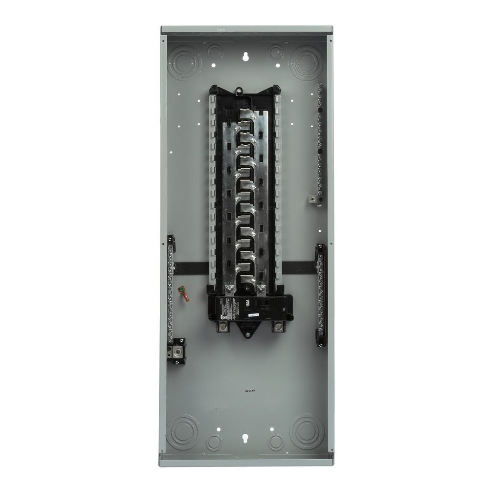 150 Amp 30 Space 40-Circuit Main Breaker Indoor Load Center