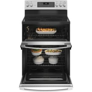 6 Cu Ft Double Oven Electric Range