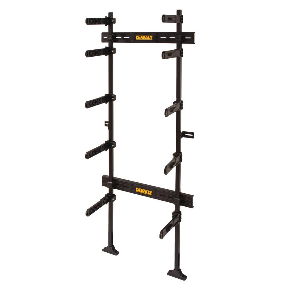 ToughSystem 25-1/2 in. Workshop Racking Storage System, Black