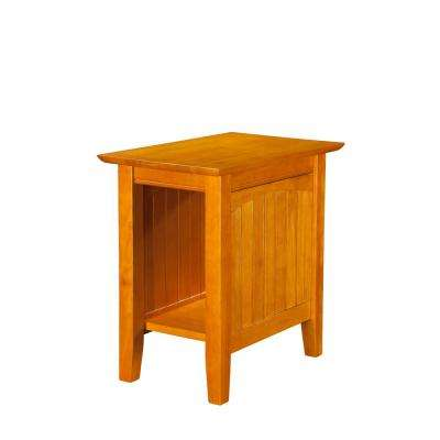 Nantucket Caramel Chair Side Table