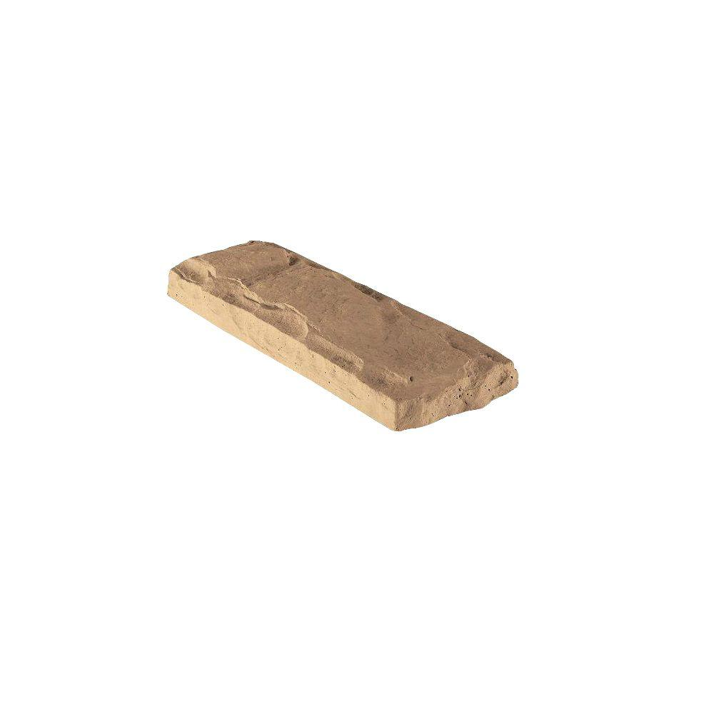 Veneerstone Header Stone Walnut 22.5 in. x 8 in. Manufactured Stone Accessory