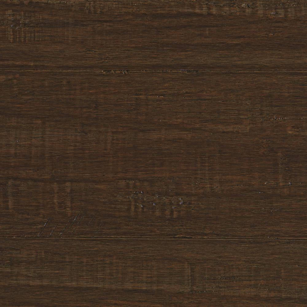 Home Legend Horizontal Dark Truffle 5 8 In Thick X 5 In Wide X 38 5 8 In Length Solid Bamboo