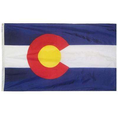 4 ft. x 6 ft. Colorado State Flag