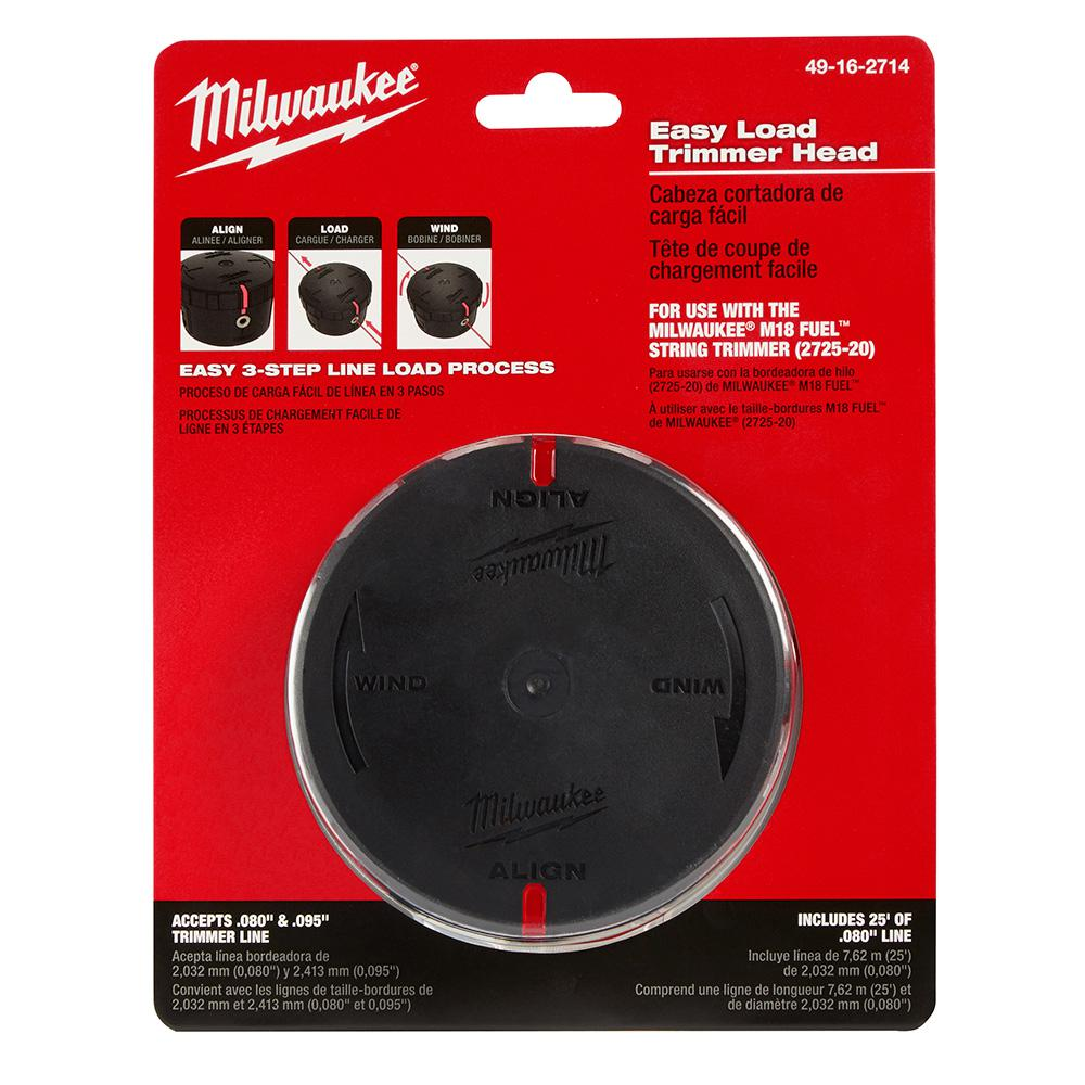 Milwaukee Replacement Easy Load Trimmer Head