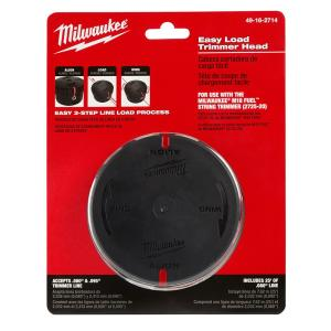 Milwaukee Replacement Easy Load Trimmer Head by Milwaukee