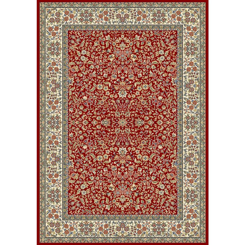 Gorman Red/Ivory 6 ft. 7 in. x 9 ft. 6 in.