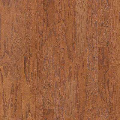 Take Home Sample - Woodale Oak Saddle Click Hardwood Flooring - 5 in. x 8 in.