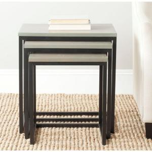 Safavieh Kaleb French Grey Stacking End Table by