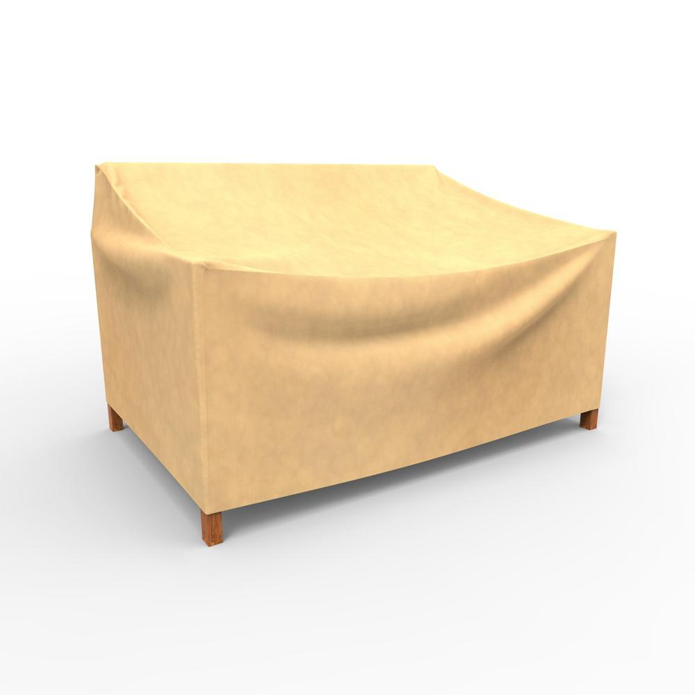 Budge All-Seasons Small Patio Loveseat Covers-P3A03SF1