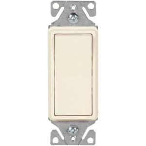 light almond eaton switches 7513la box 64_300 eaton 15 amp decorator 3 way light switch, light almond c7513la  at highcare.asia