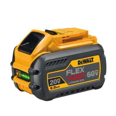 FLEXVOLT 20-Volt/60-Volt MAX Lithium-Ion Battery Pack