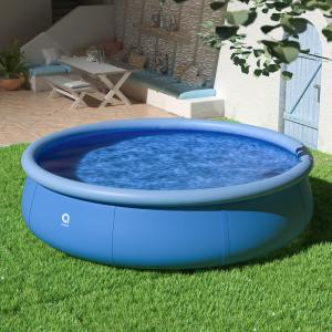 12 ft. Round 36 in. D Easy Set Above Ground Inflatable Pool Family Swimming Pool Outdoor Garden
