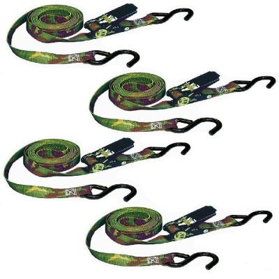 Keeper Pack of 2 03519 Desert Camouflage 12 x 1 Ratchet Tie-Down,