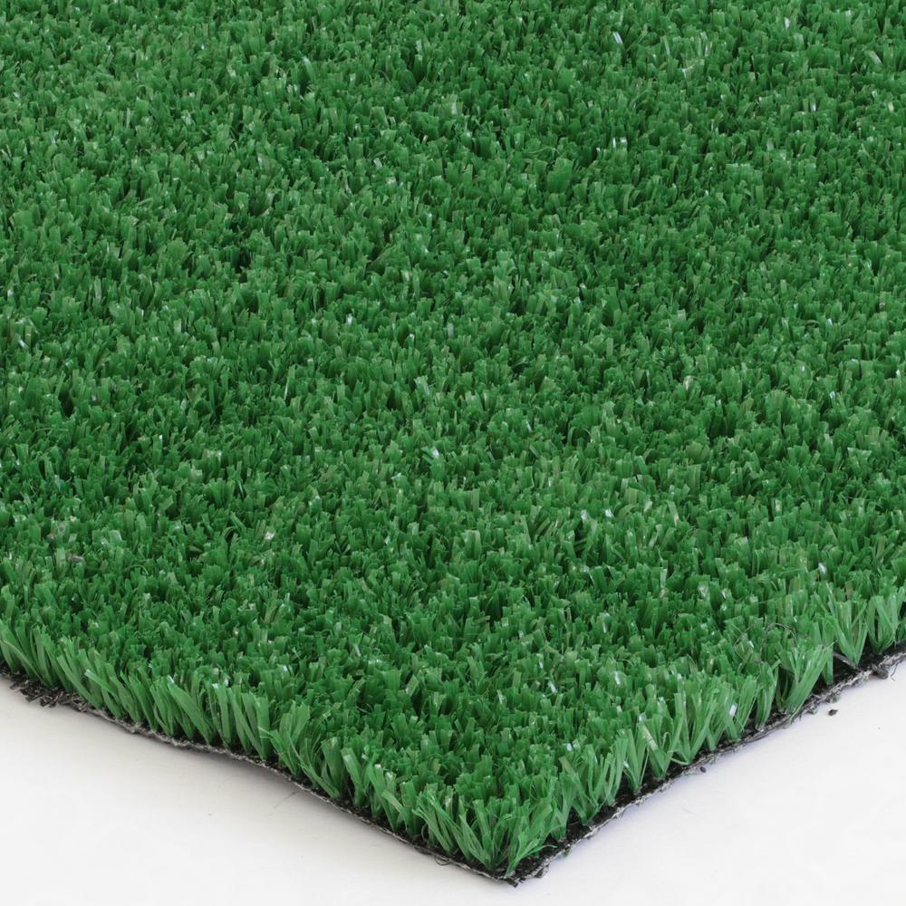 TrafficMASTER Roller Bar 8 oz. Artificial Grass 12 ft. x ...