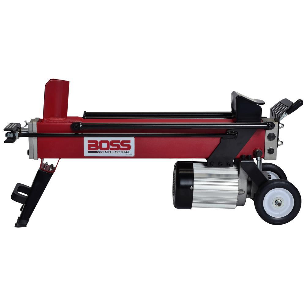 Boss Industrial EC5T20 5-Ton 12 Amp Electric Log Splitter