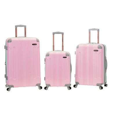Rockland Sonic 3-Piece Hardside Spinner Luggage Set, Mint