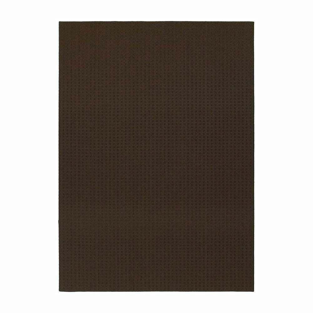 Garland Rug Herald Square Mocha 7 ft. 6 in. x 9 ft. 6 in. Area Rug
