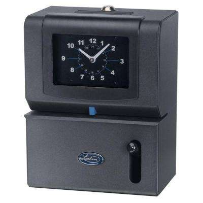 State of Art Employee Time Stamp with Analog Time Clock