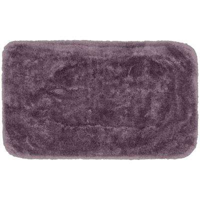 Finest Luxury Purple 30 in. x 50 in. Plush Nylon Bath Mat