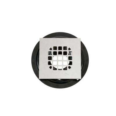 Low Profile with Square Stainless Steel Strainer ABS