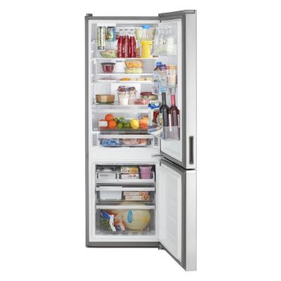 24 in. 12.7 cu. ft. Bottom Freezer Refrigerator in Fingerprint Resistant Stainless, Counter Depth
