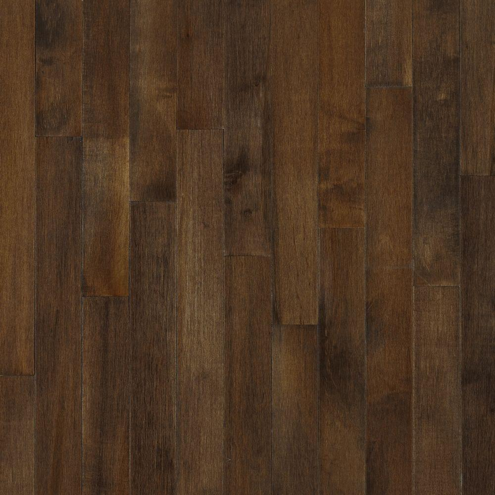 Bruce American Originals Carob Maple 5/16 in. T x 2-1/4 in. W x Random Length Solid Hardwood Flooring (40 sq. ft. / case)