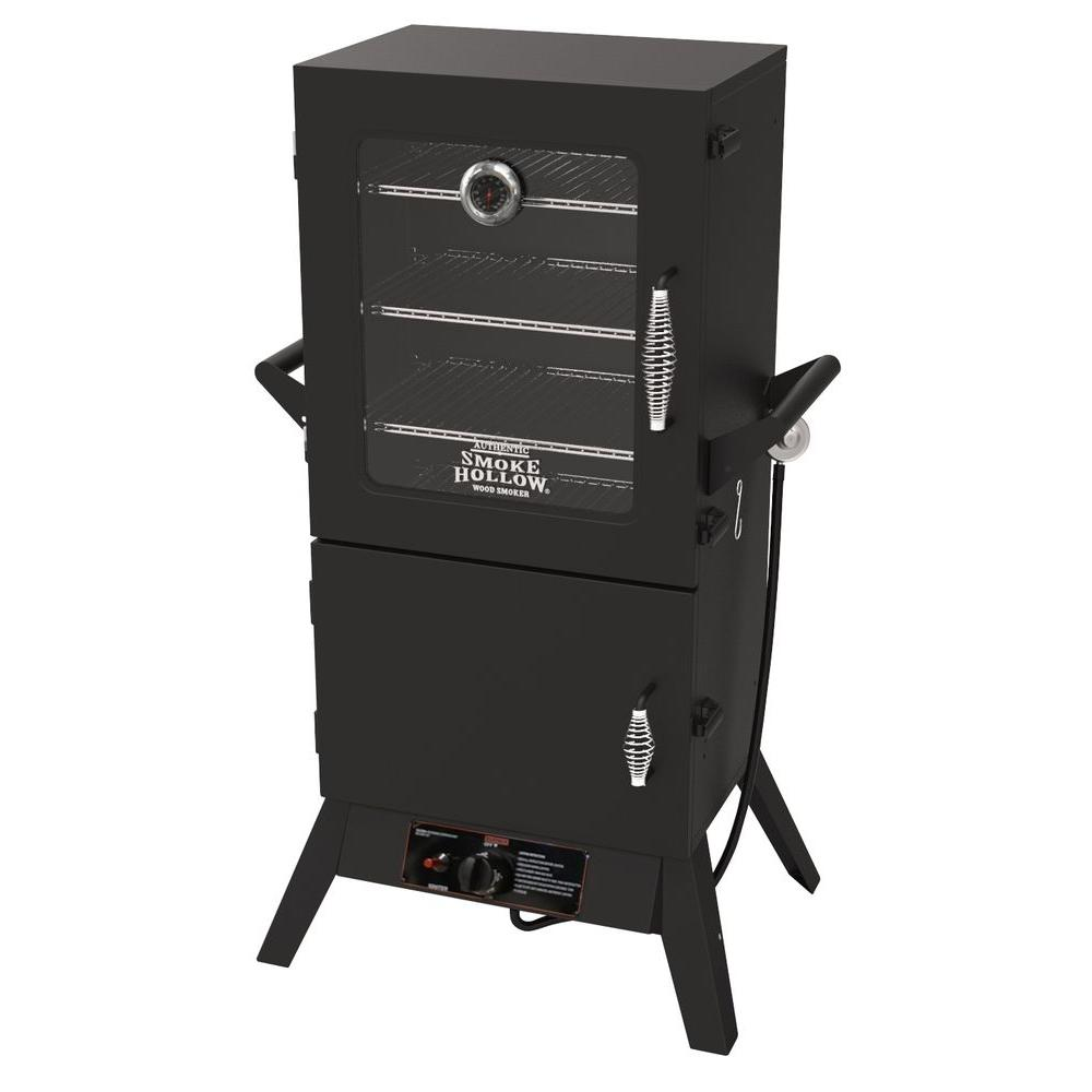 38 in. Gas Smoker with Window