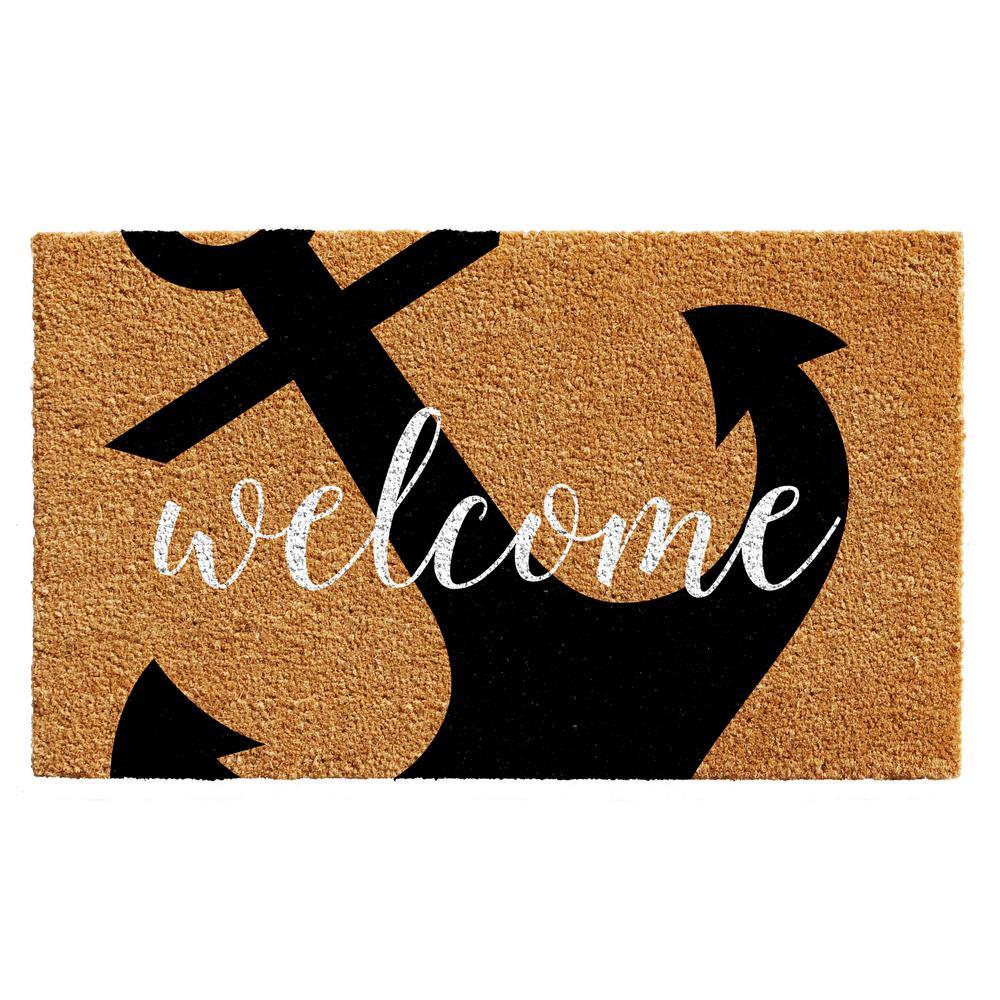 Anchor Welcome 24 in. x 36 in. Door Mat