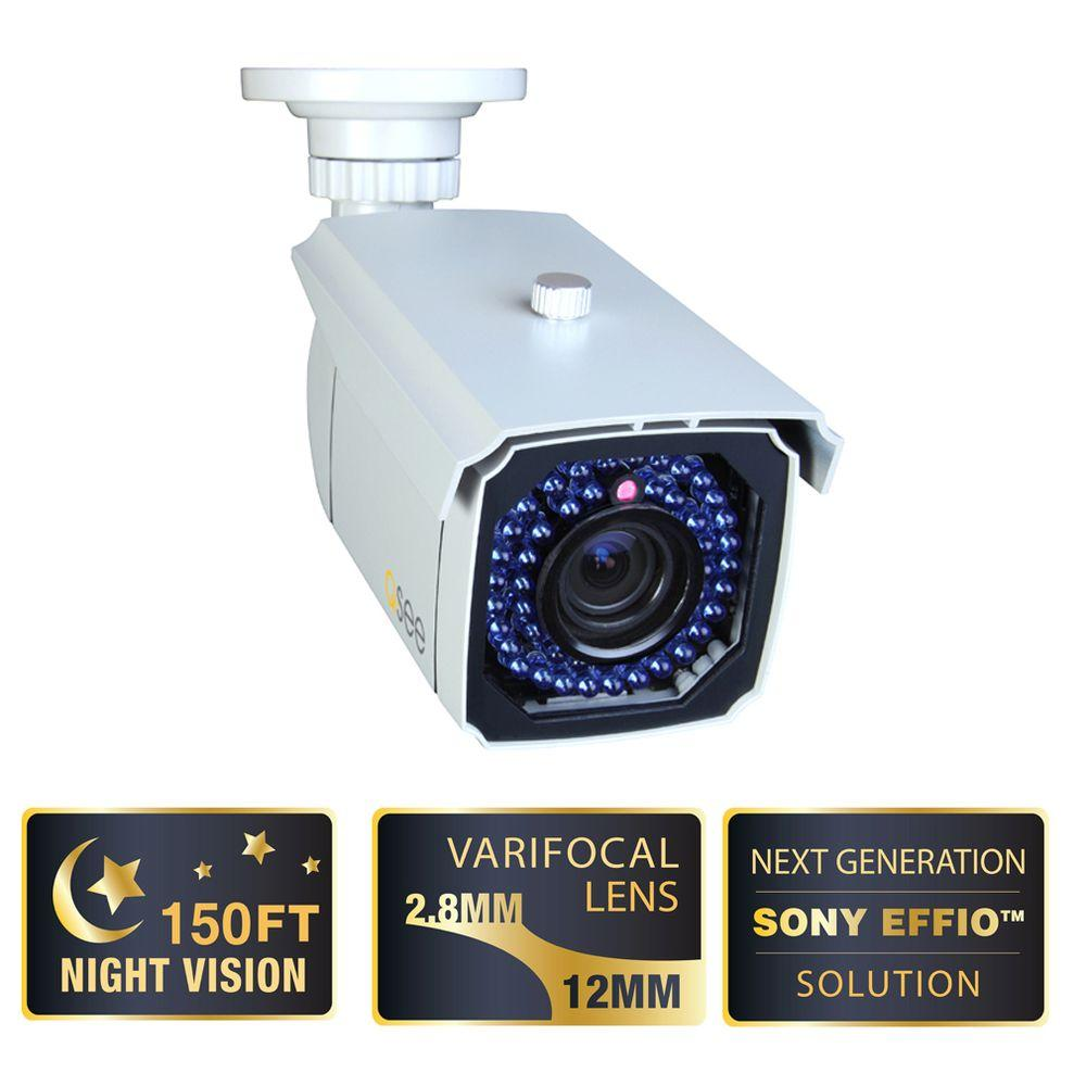 Q-SEE Elite Series 650 TVL CCD Indoor/Outdoor Bullet Shaped Surveillance Camera-DISCONTINUED