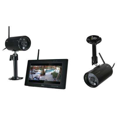 ObserverHD 4-Channel 1080P Surveillance System with 2 Wired Cameras and 7 in. Monitor