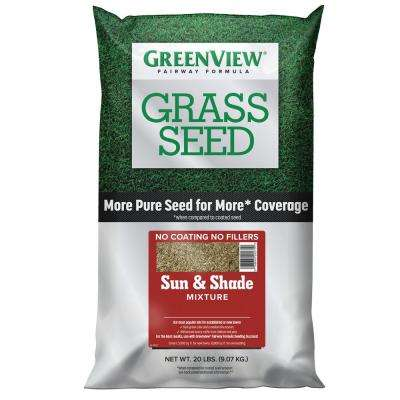 20 lbs. Fairway Formula Grass Seed Sun and Shade Mixture