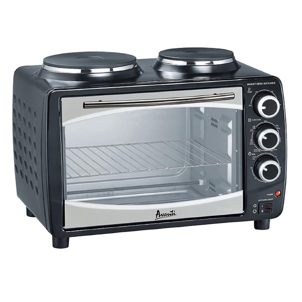 1.1 cu. ft. Multi Function Oven in Black