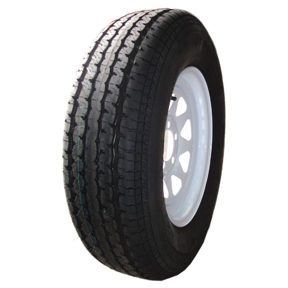 8 Spoke White 80 PSI ST235/80R16 and 16 in. x 6.0 in. 8-6...