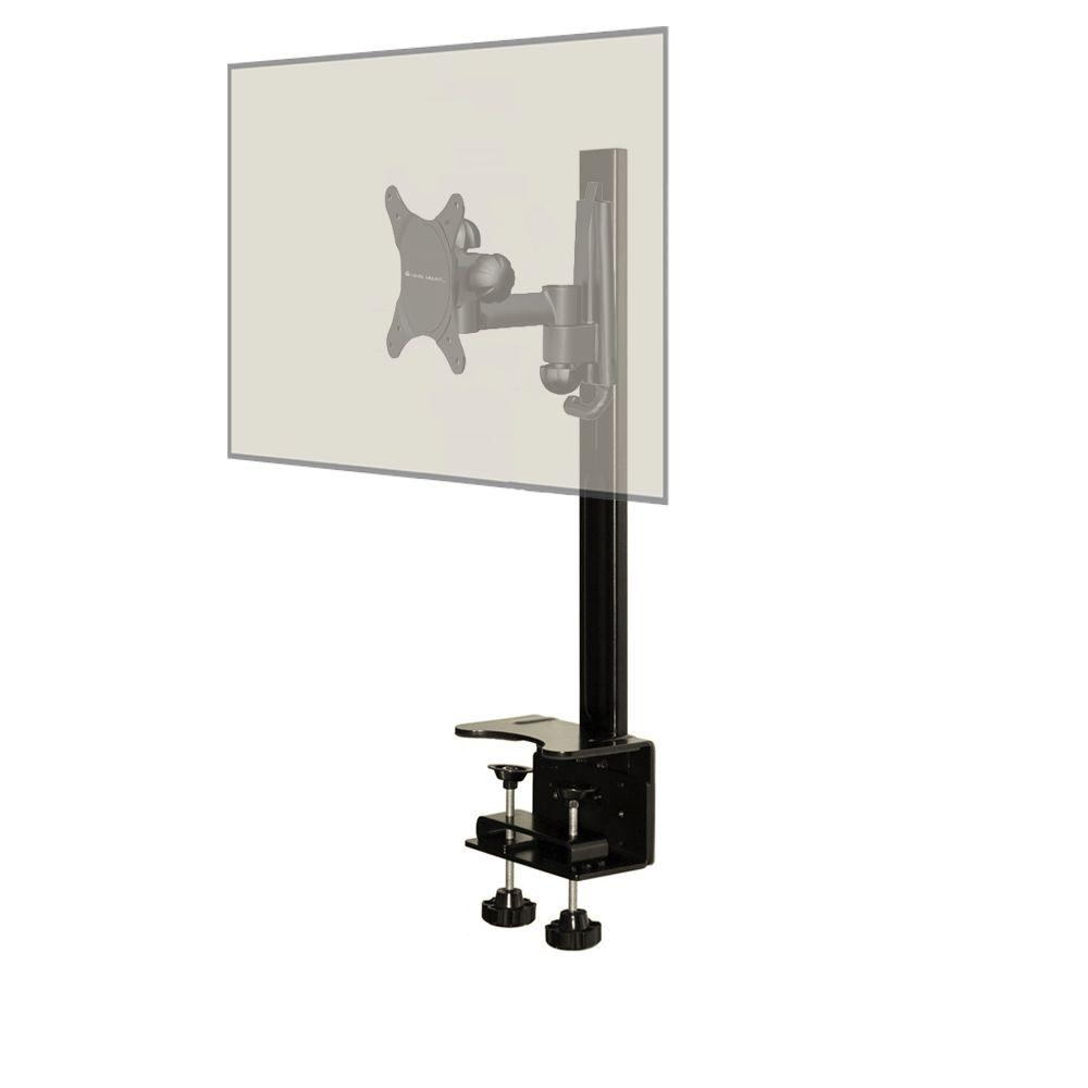 Level Mount Desktop Mount with a Full Motion Single Arm Mount Fits 10 to 30 in. Monitors/TVs
