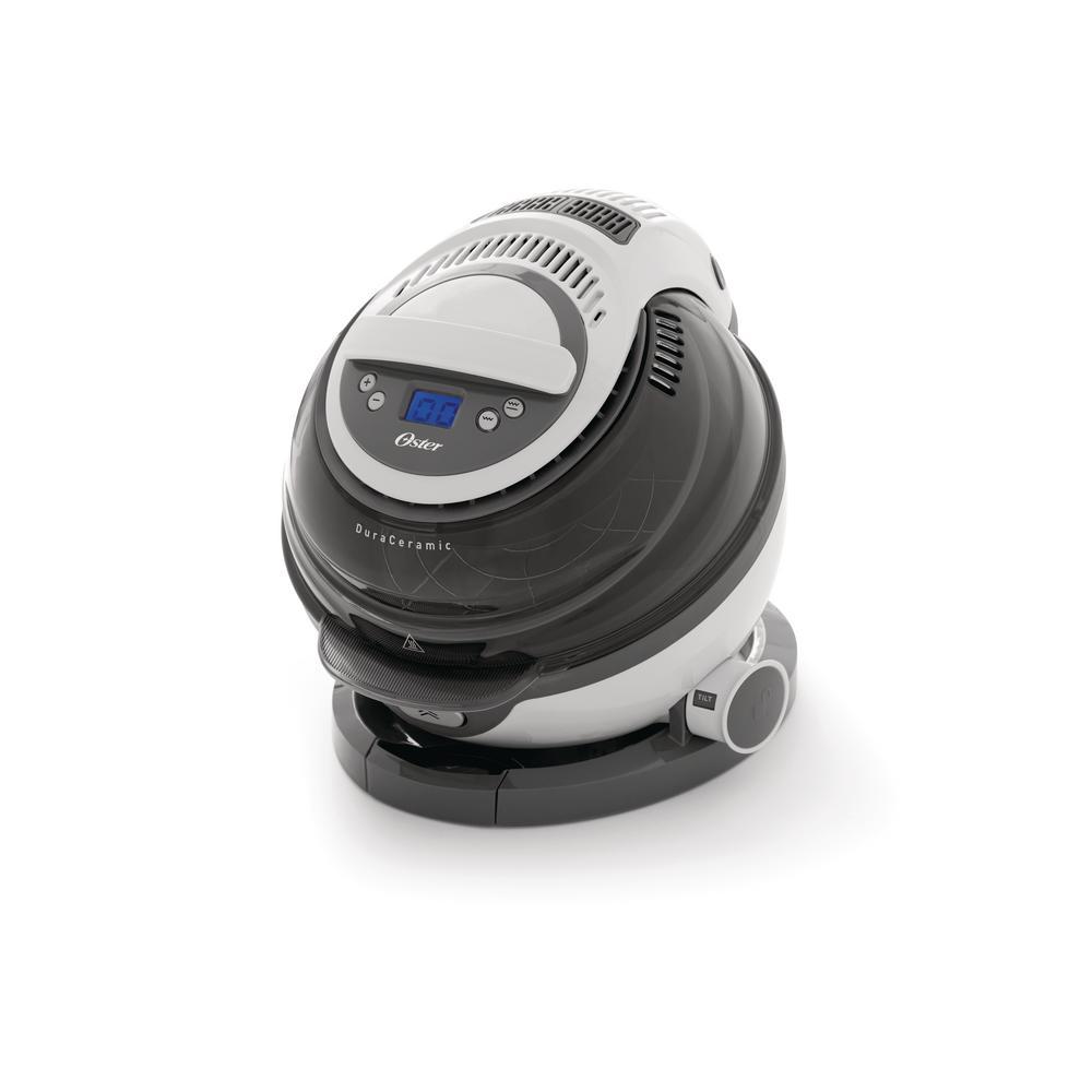 DuraCeramic 3 Qt  Black Electric Multi-Cooker and Air Fryer