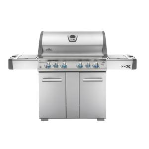 LEX 605 with Side Burner and Infrared Bottom and Rear Burners Propane Gas Grill by