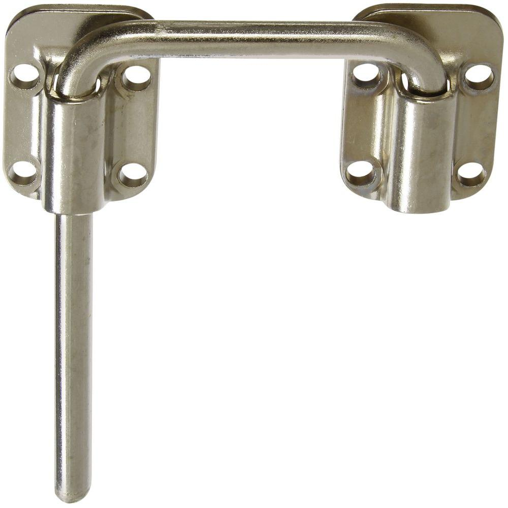 2-1/2 in. Nickel Sliding Door Latch
