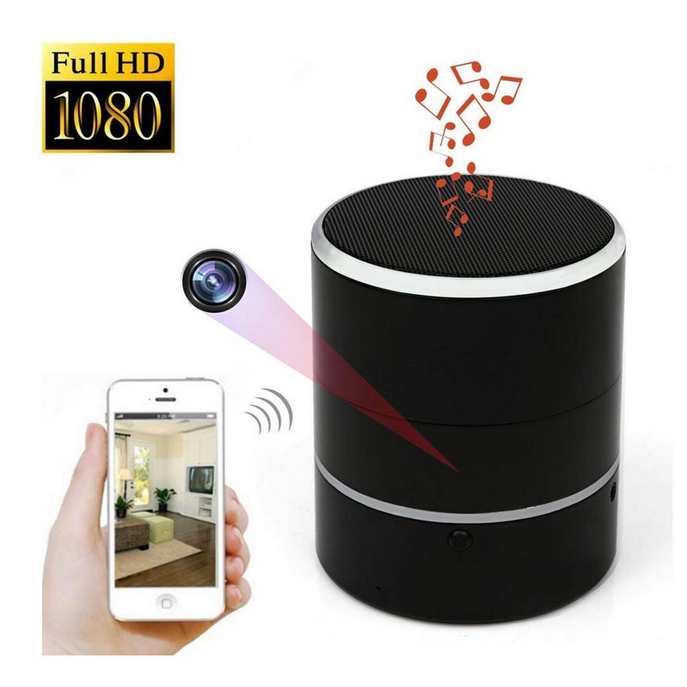 AMZSecurity AMZ Security Wireless Bluetooth Speaker with Hidden IP Spy Camera