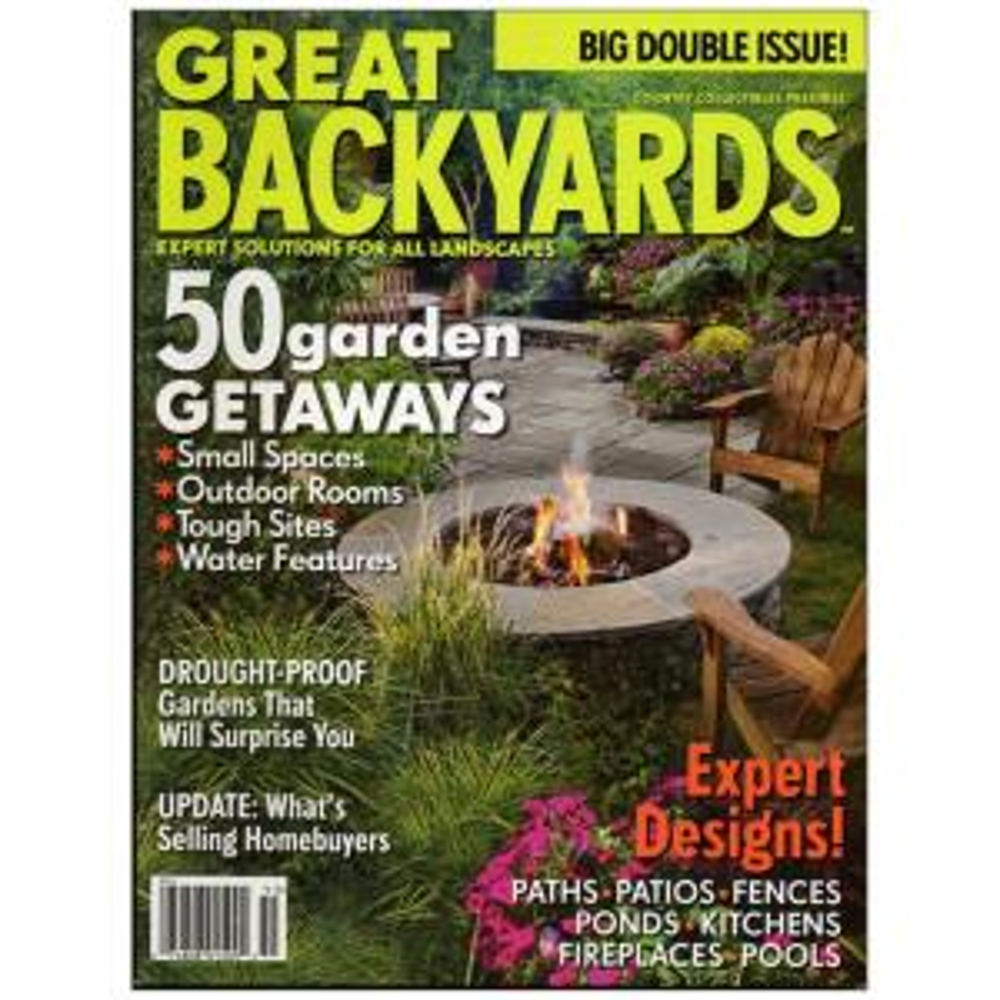 Great Backyards backyards magazine-01509 - the home depot