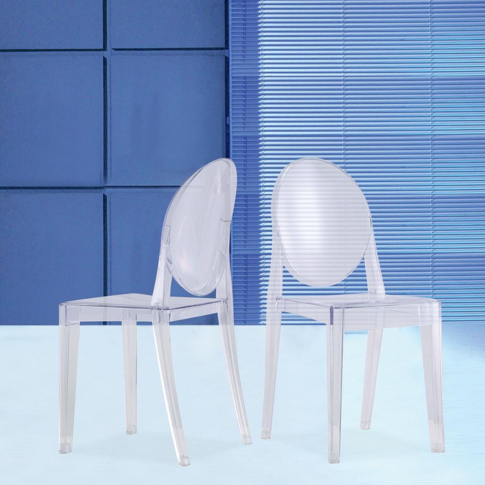 Smoke Side Chair