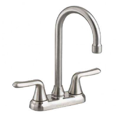 Colony Soft 2-Handle Bar Faucet in Stainless Steel