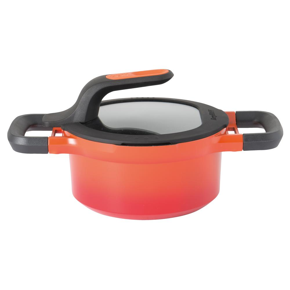 GEM 1.6 Qt. Cast Aluminum Non-Stick Covered Sauce Pan