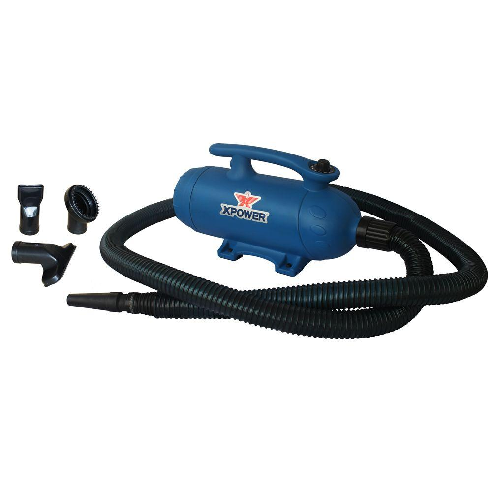 Xpower 6 hp variable speed dual brush motor pet dryer b 27 for How to make a variable speed motor